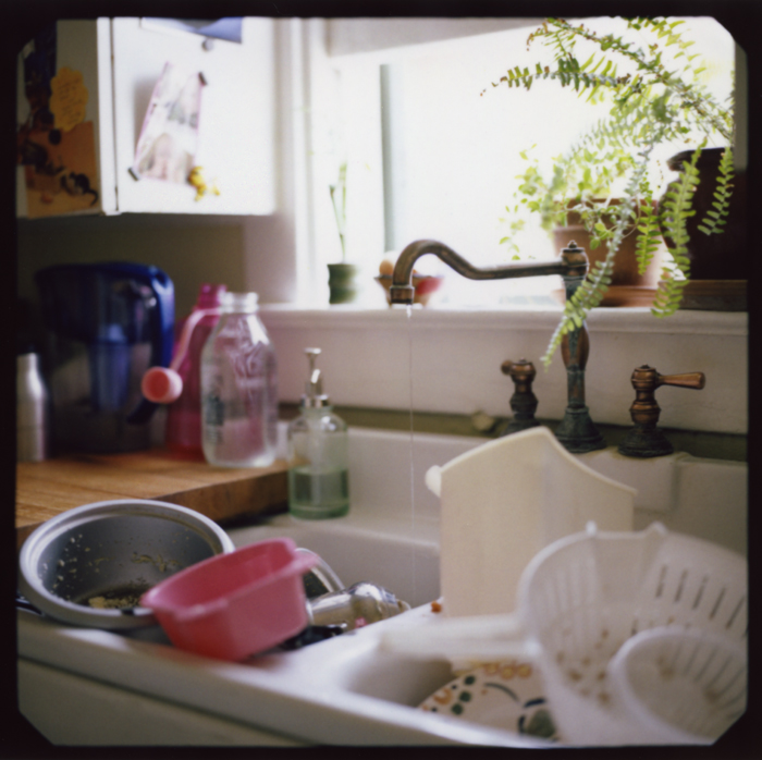 Remnants. Kitchen sink, home. Tucson, Arizona _ 2011
